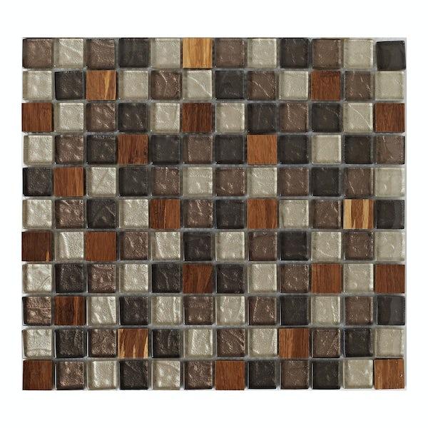 British Ceramic Tile Mosaic natural tile 300mm x 300mm - 1 sheet