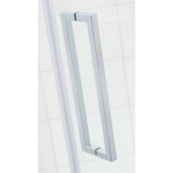 V8+ Frameless Hinged Shower Door 760 RH