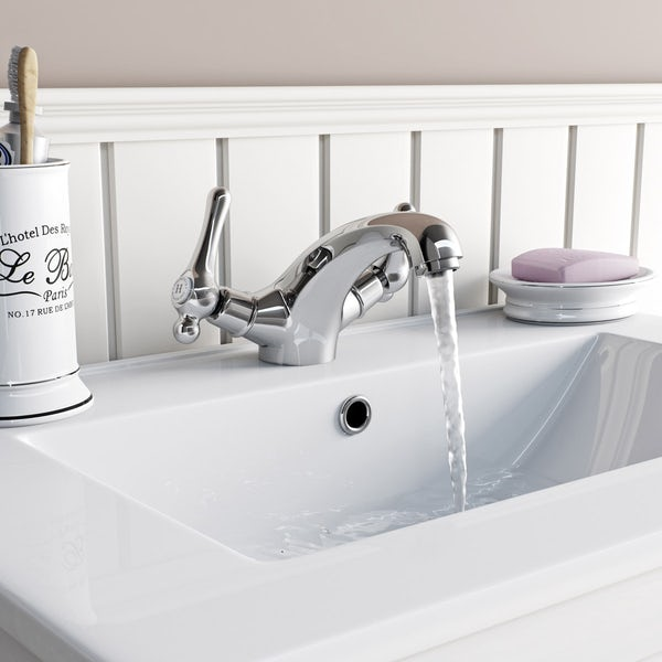 The Bath Co. Camberley lever basin mixer tap offer pack