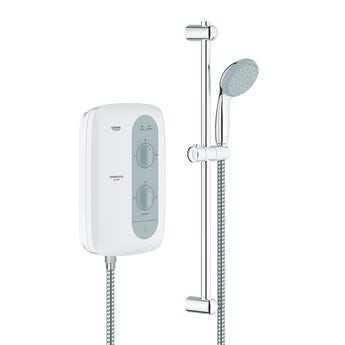 Grohe Tempesta 100 8.5kw electric shower nighttime grey