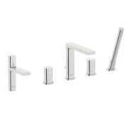Mode Heath basin and 4 hole bath shower mixer tap pack