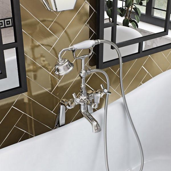 The Bath Co. Beaumont bath shower mixer tap