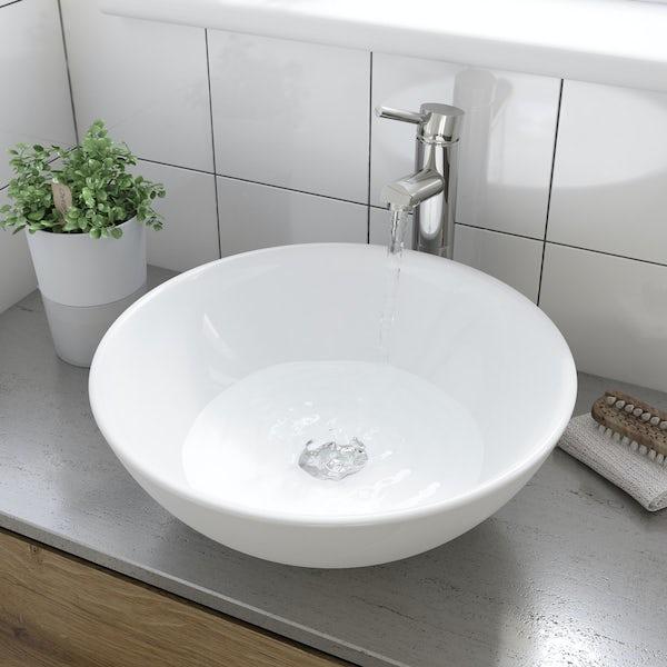 Derwent counter top basin with waste