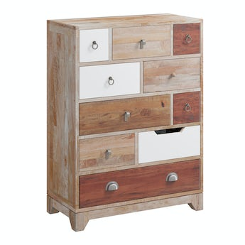 Reeves Weston natural 10 drawer chest