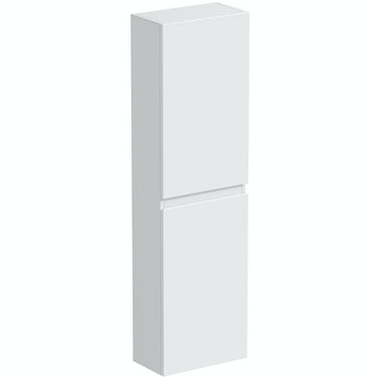 Mode Hardy white side wall storage