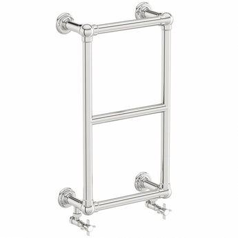 The Bath Co. Winchester wall mounted heated towel rail 700 x 400