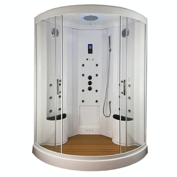 Insignia quadrant steam shower cabin 1350 x 1350