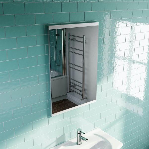 Eden white mirror 500mm