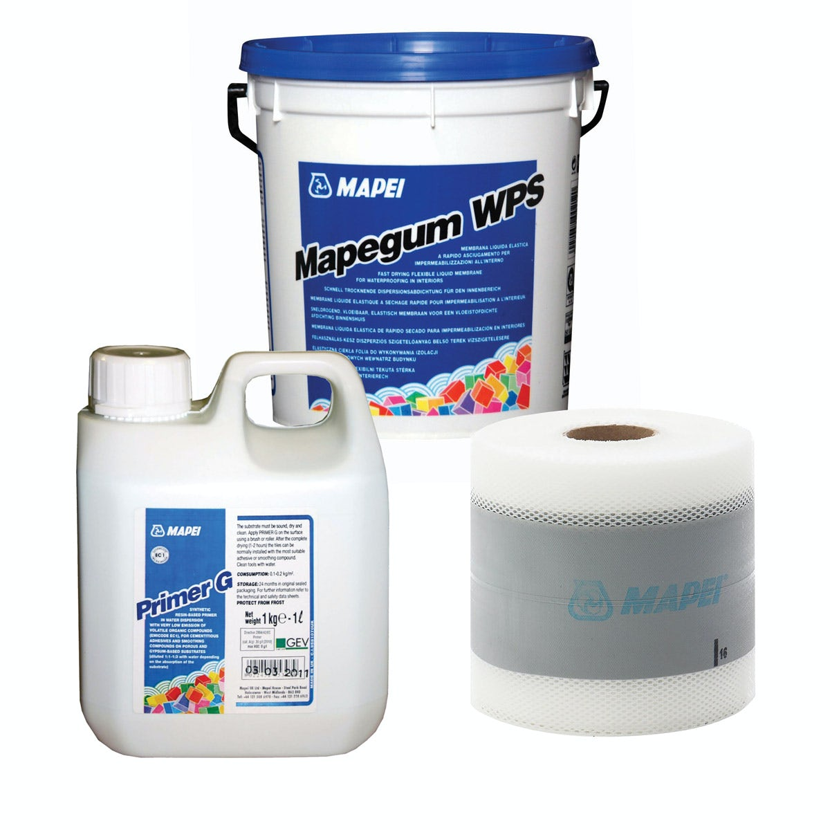 AKW Mapei 5m tanking kit - Sold by Victoria Plum