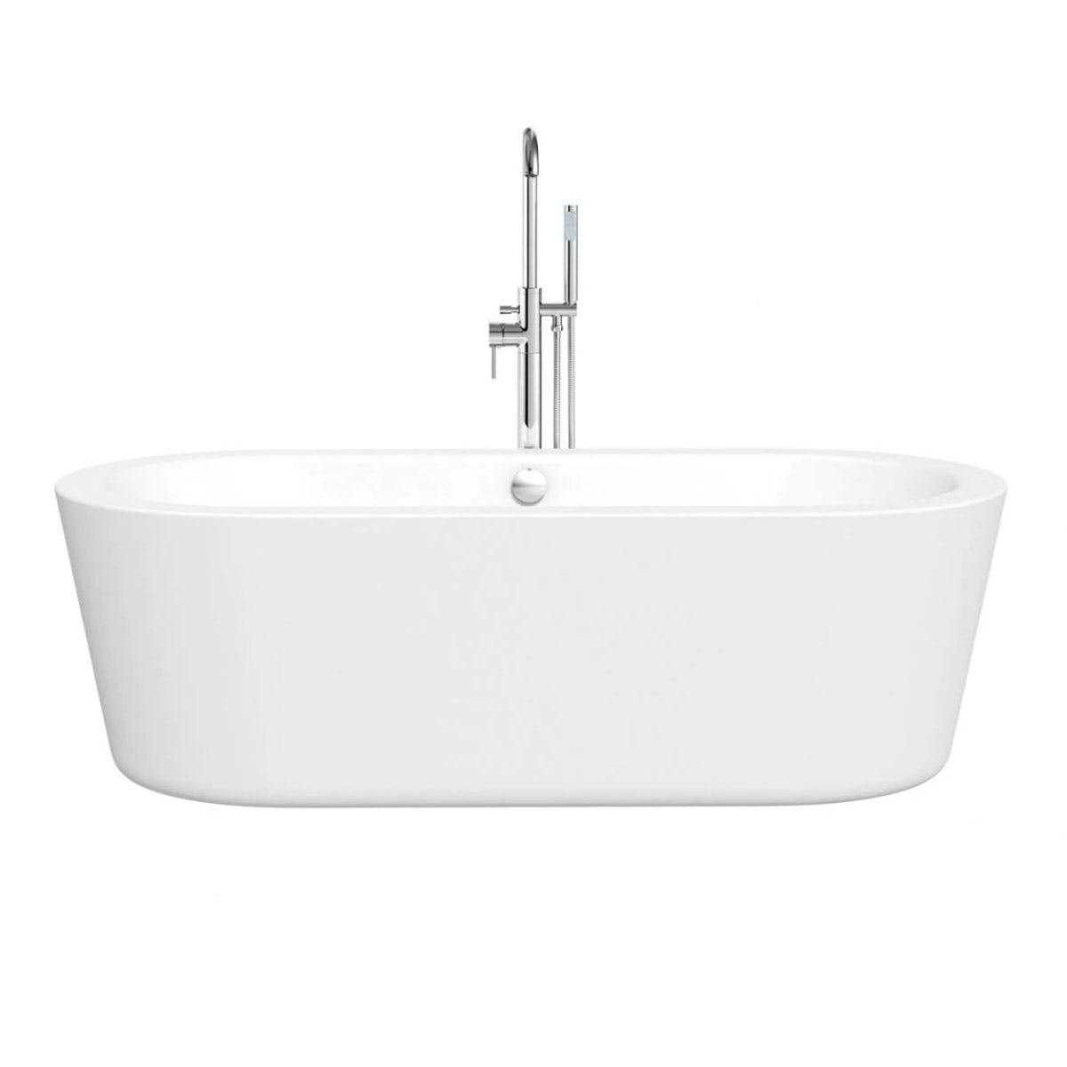 crescent bath