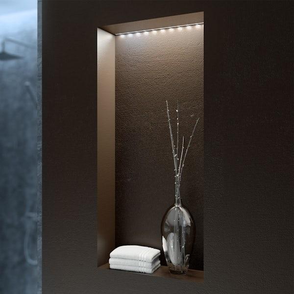 LED flexible strip kit 1m warm white