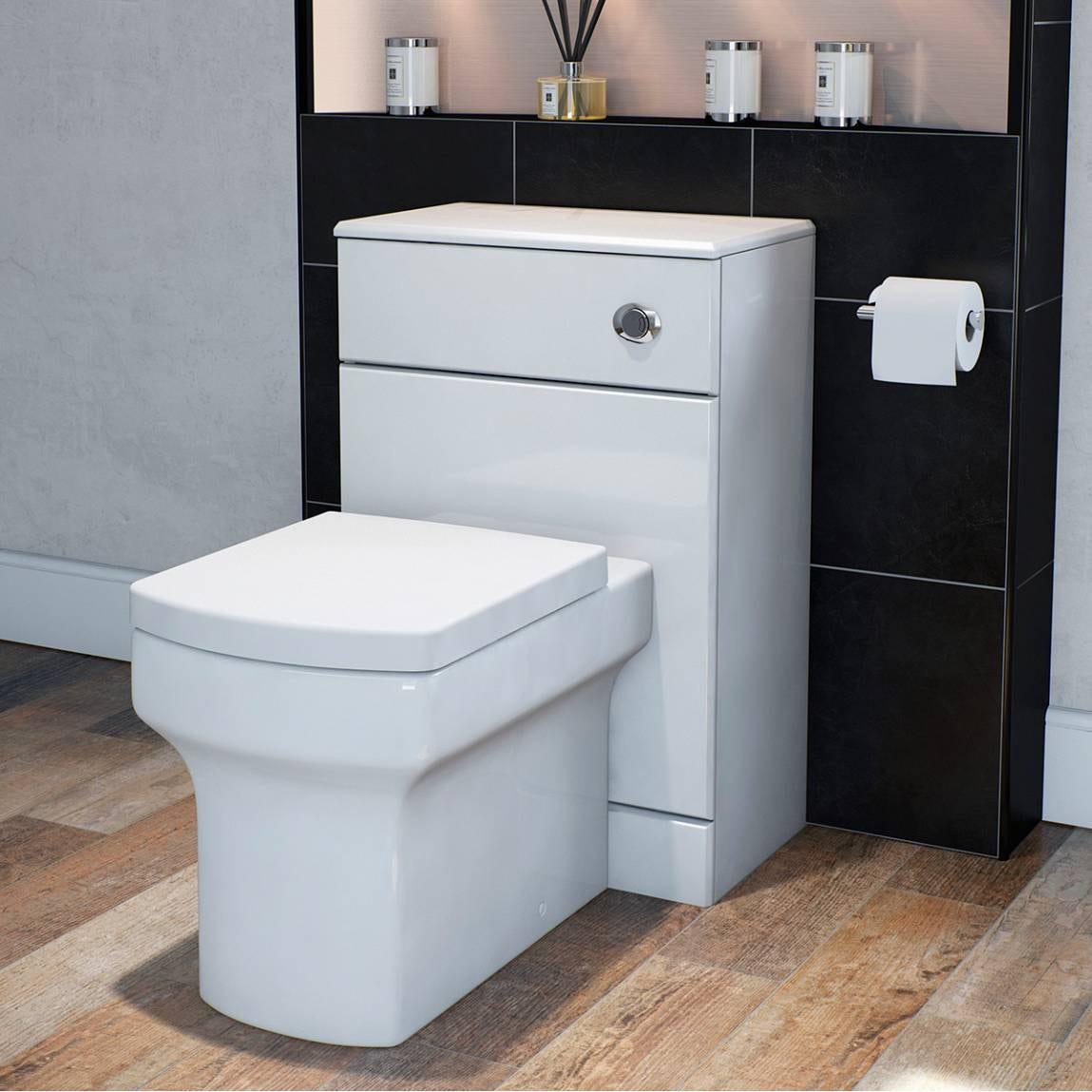 Wye Back to Wall Toilet inc Luxury Soft Close Seat