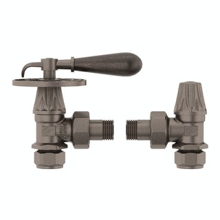 Oxford russet manual lever radiator valves