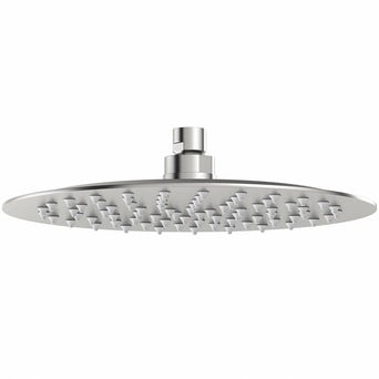 Brushed Stainless Steel Waifer Shower Head Round 250mm