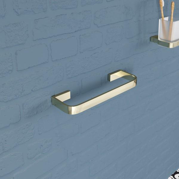 Mode Spencer gold towel rail