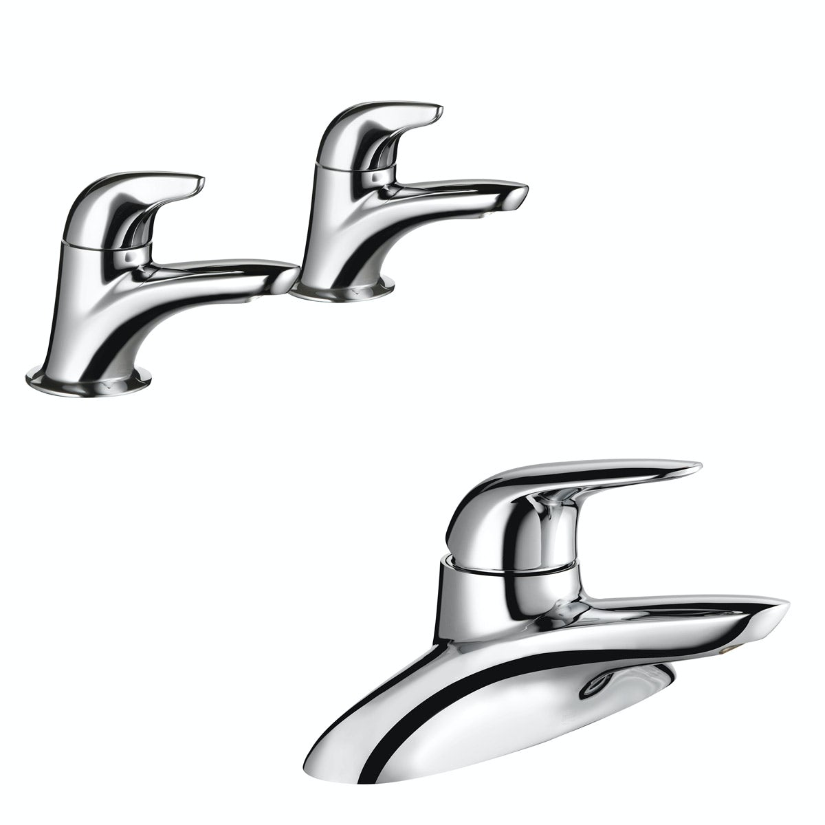 Mira Comfort basin tap and bath mixer tap pack