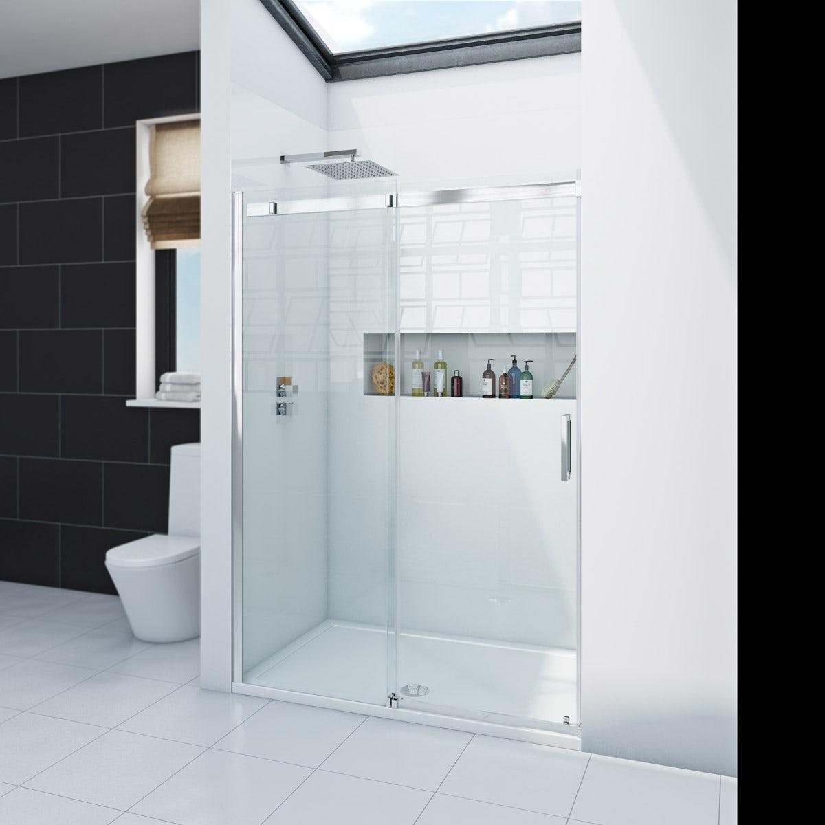 Zenolite plus ice acrylic shower wall panel 2440 x 1000
