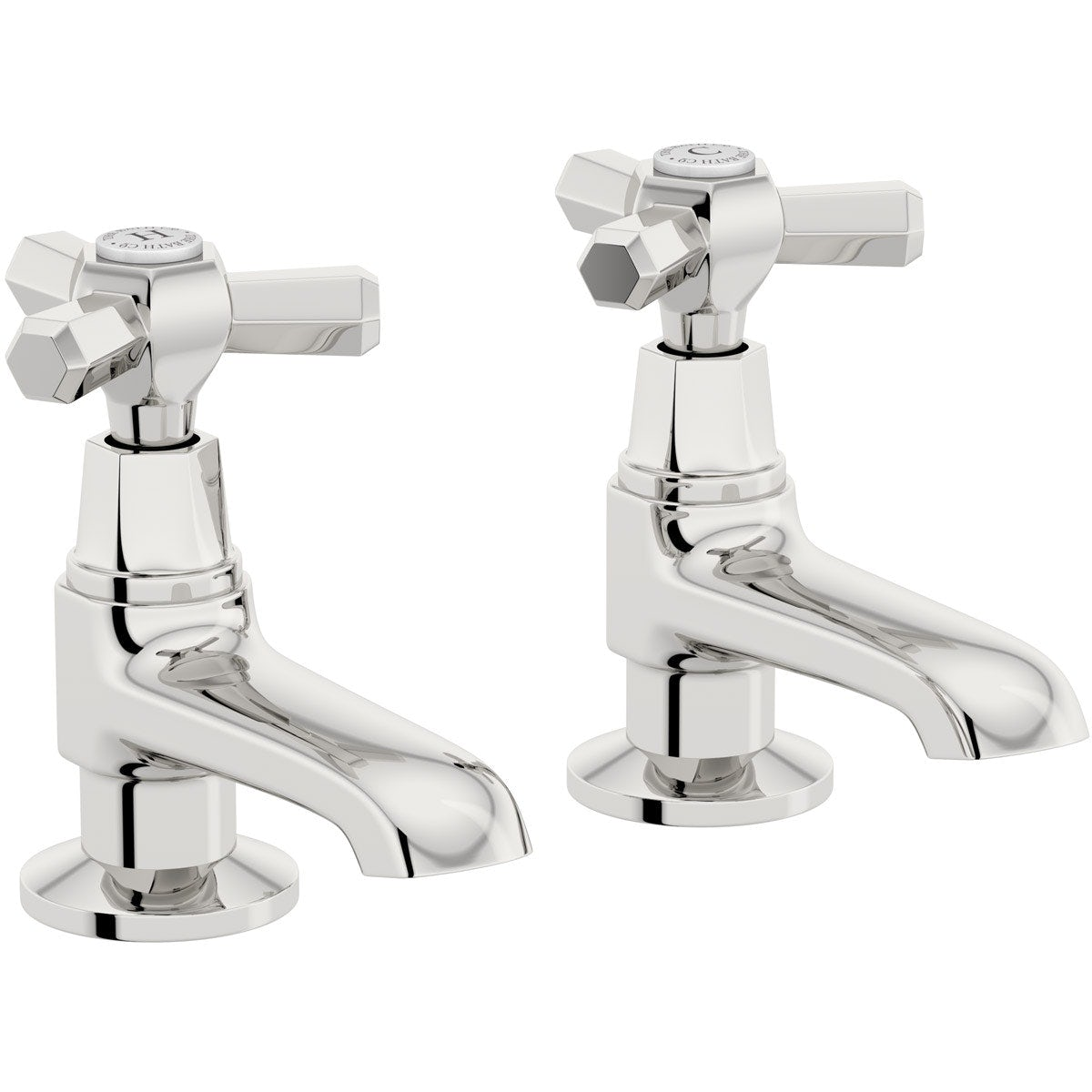 The Bath Co. Beaumont basin pillar taps offer pack