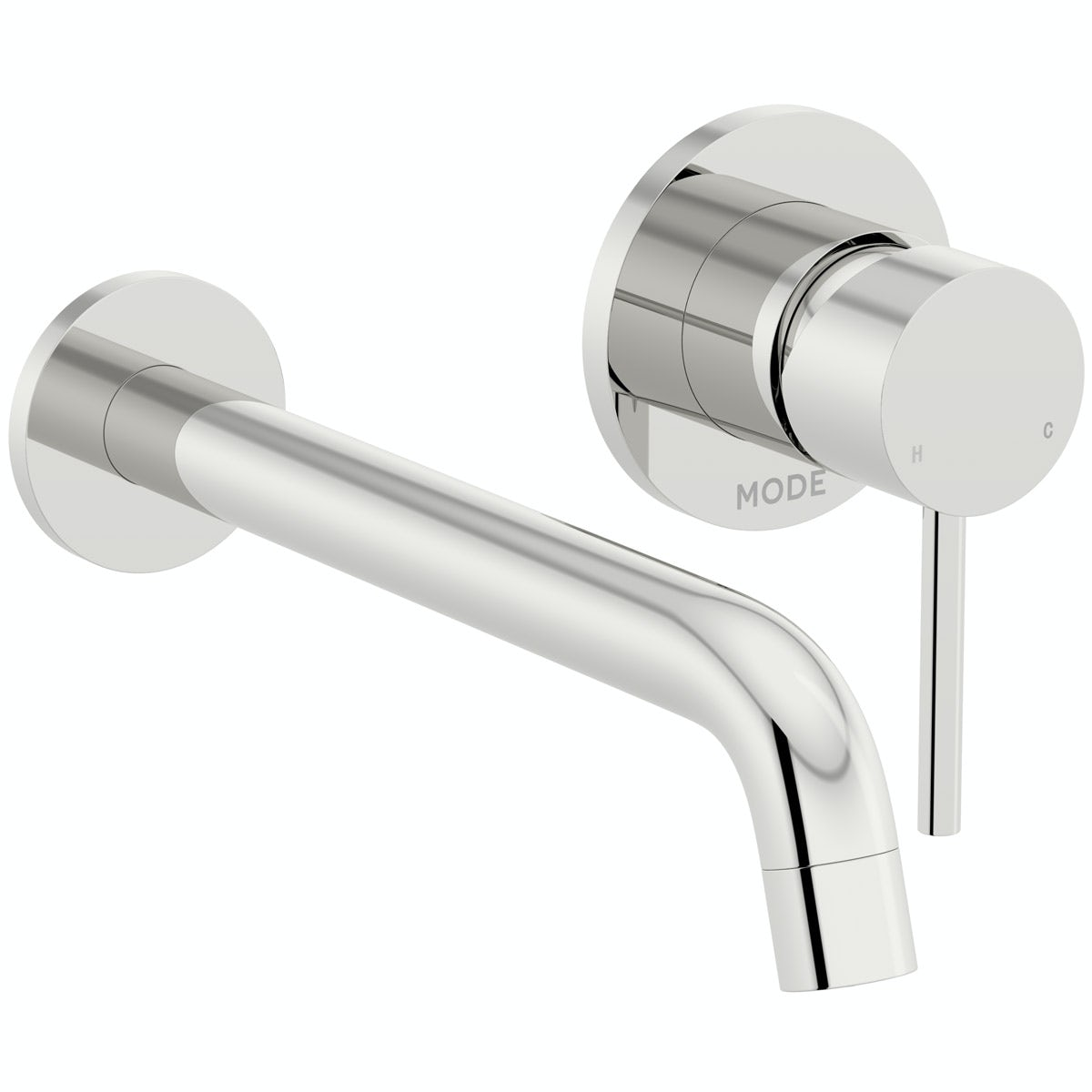 Mode Spencer round wall mounted basin mixer tap