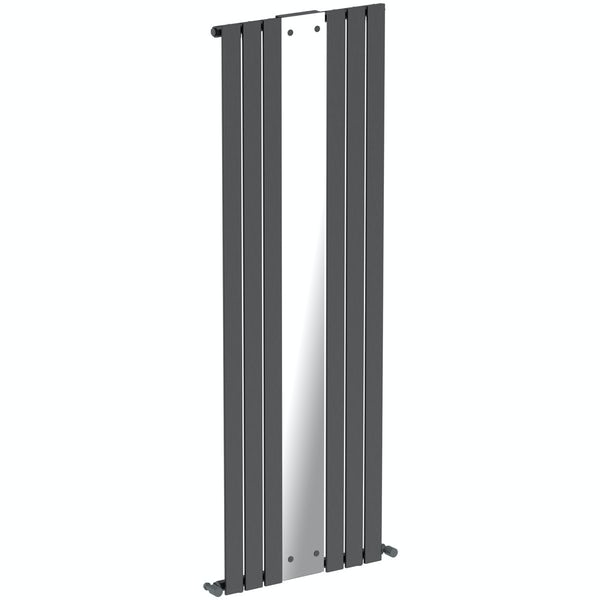 Mode Ellis anthracite vertical radiator with mirror 1840 x 620 Back to product list Clone product