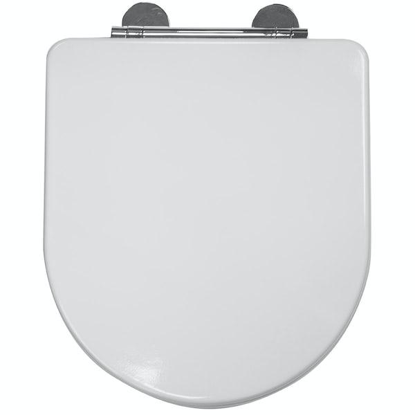 Croydex Eyre flexi fix toilet seat