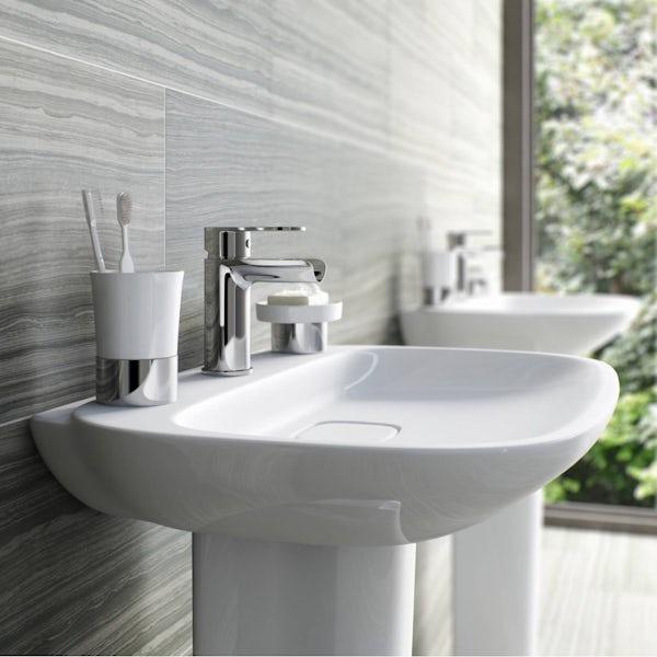 Eden waterfall basin mixer tap offer pack