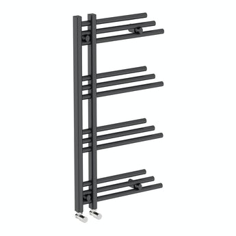 Mode Harrison anthracite heated towel rail 950 x 500 offer pack