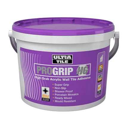 Ultratile pro grip ready mixed wall tile adhesive 10 litre