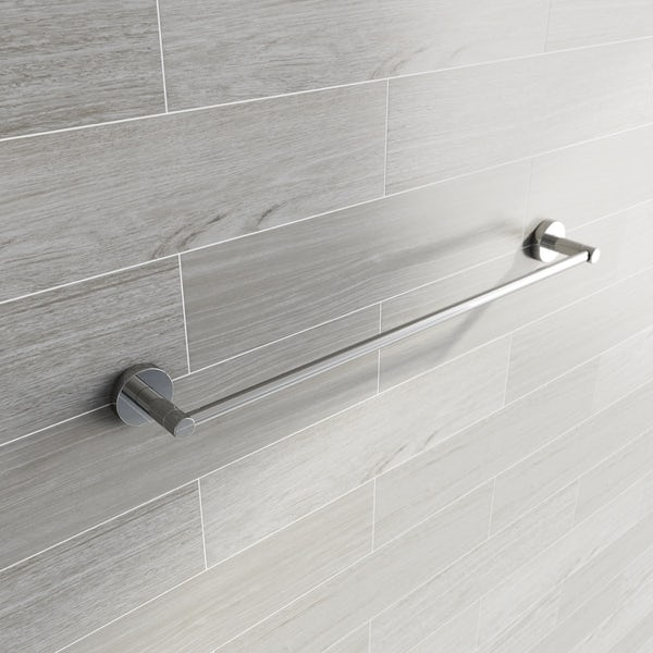 Lunar Single Towel Rail