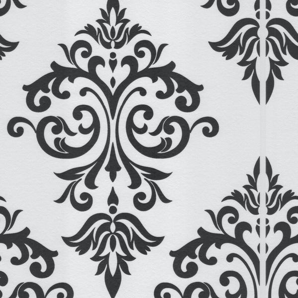 Graham & Brown Pallade black and white wallpaper