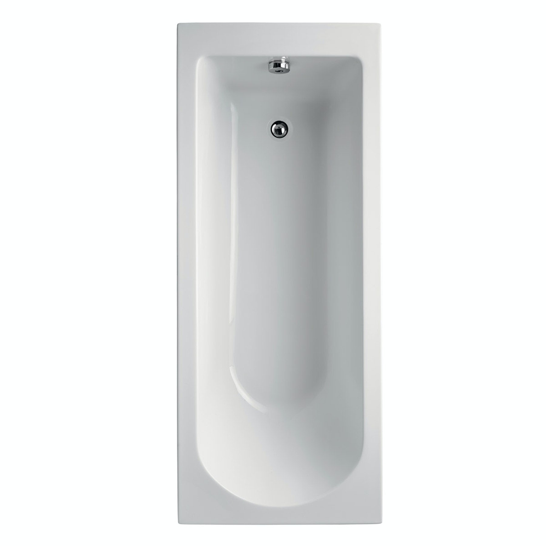 Ideal Standard Tesi single ended Idealform straight bath 1700 x 700
