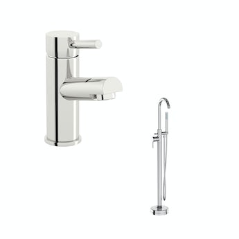 Matrix basin and bath shower tap standpipe pack