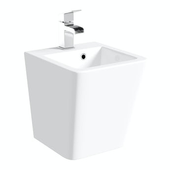 Orchard Montreal 1 tap hole wall hung basin 370mm with waste
