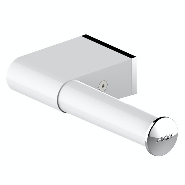 AKW Onyx toilet roll holder white and chrome