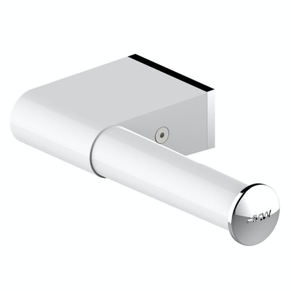 AKW Onyx toilet roll holder white and chrome