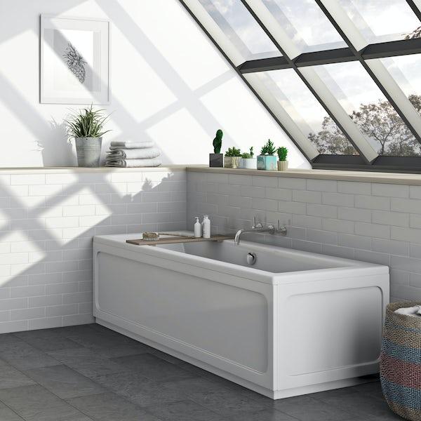 The Bath Co. Traditional acrylic bath panel pack 1700 x 700