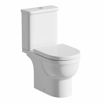 Orchard Deco close coupled toilet with soft close toilet seat