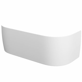 Elsdon D-Shaped Back to Wall Bath Panel