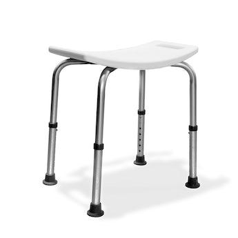 AKW Aluminium freestanding shower seat