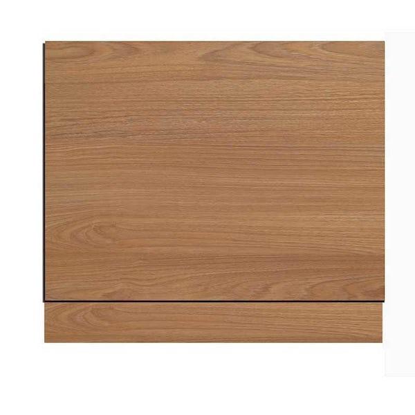 Oak Effect Bath End Panel 750