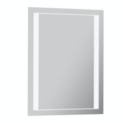 Rishi diffused LED mirror