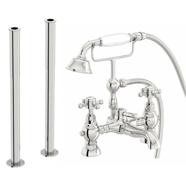 Coniston Bath Shower Mixer and Standpipe Pack
