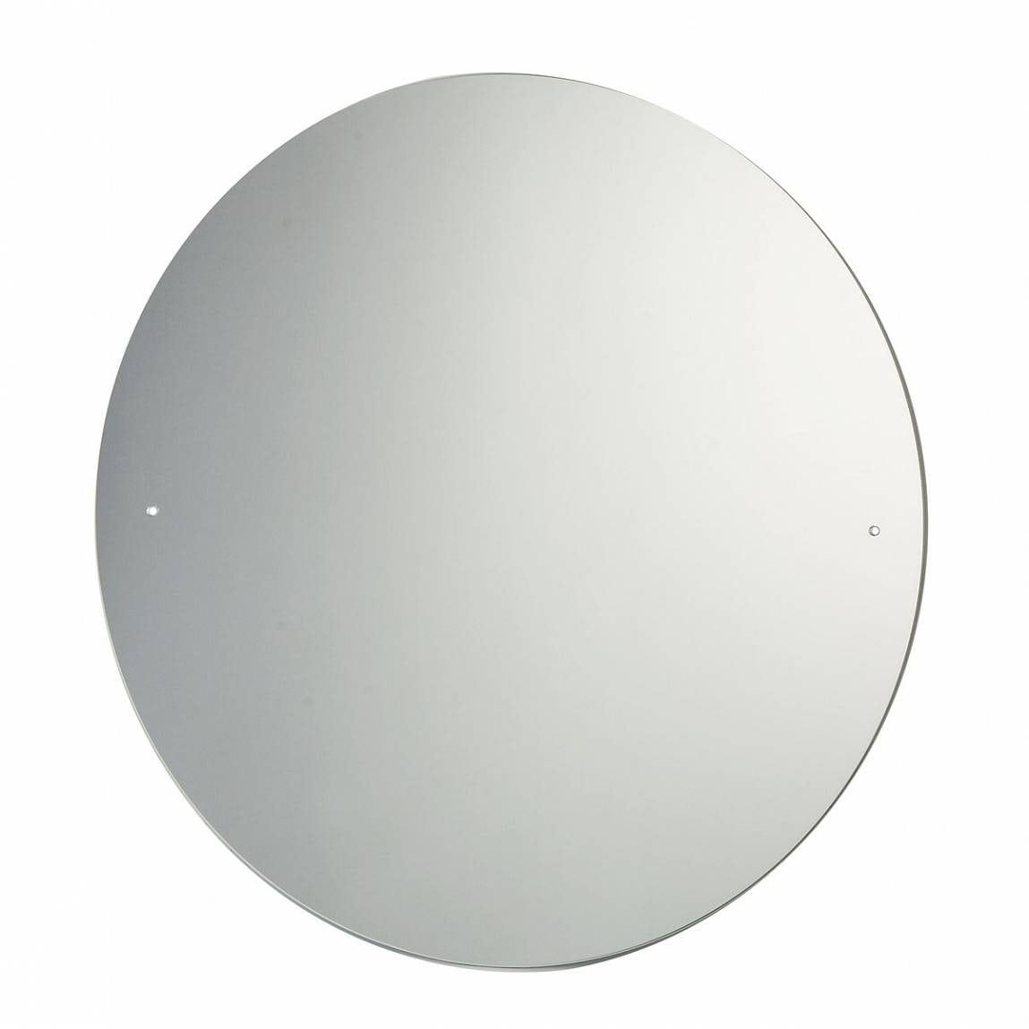Circular Bevelled Edge Drilled Mirror Diameter 60cm