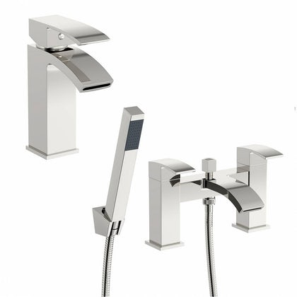 Wye Basin and Bath Shower Mixer Pack