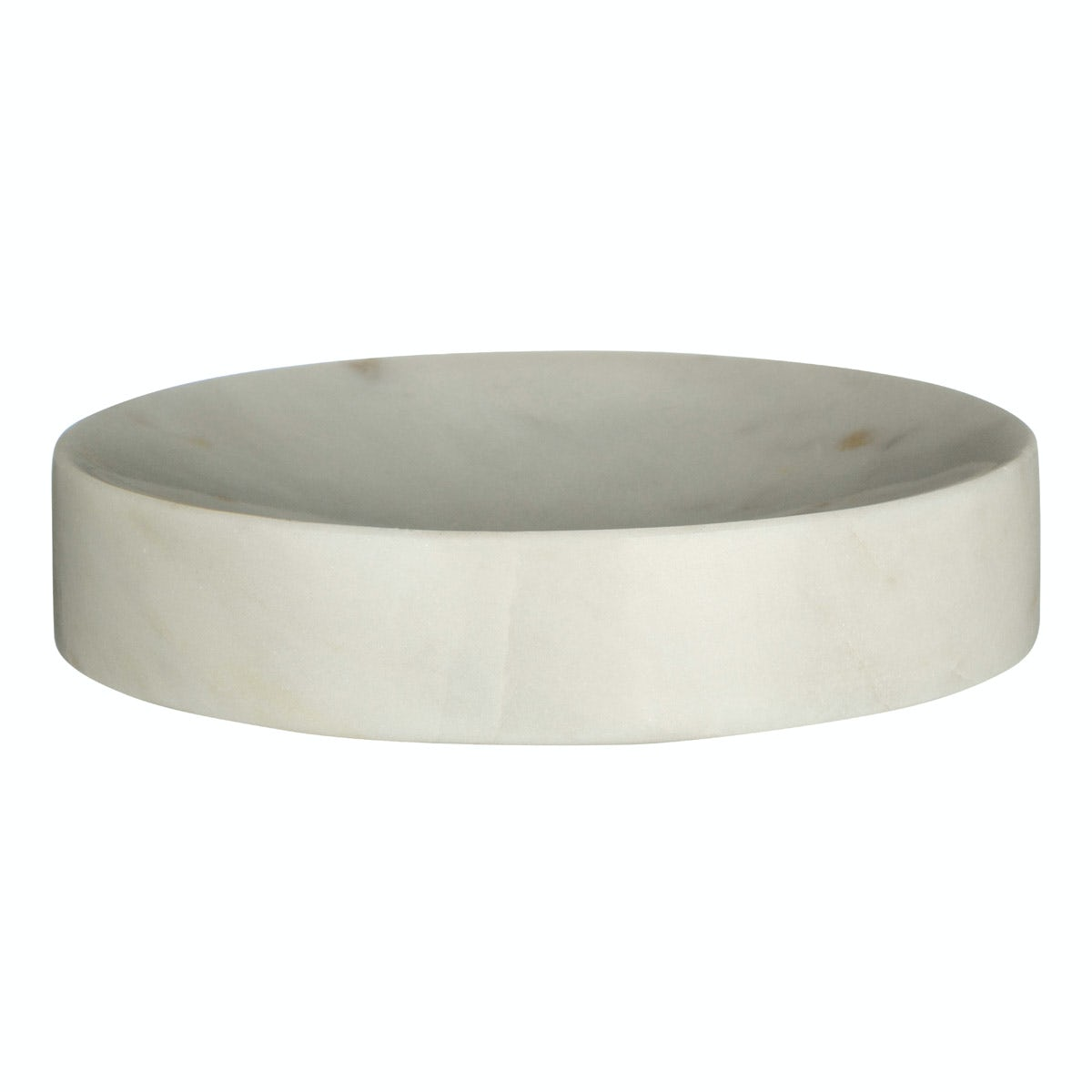 Mode White marble soap dish