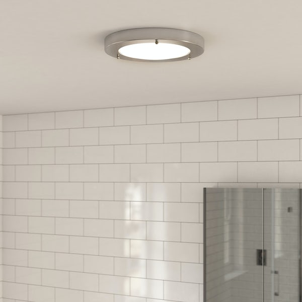 Forum llum large round flush bathroom ceiling light mozeypictures Gallery