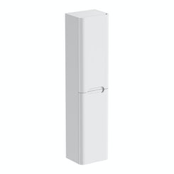 Planet white wall hung cabinet