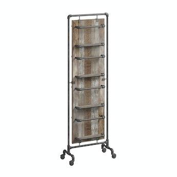 Reeves Sawyer tall storage rack