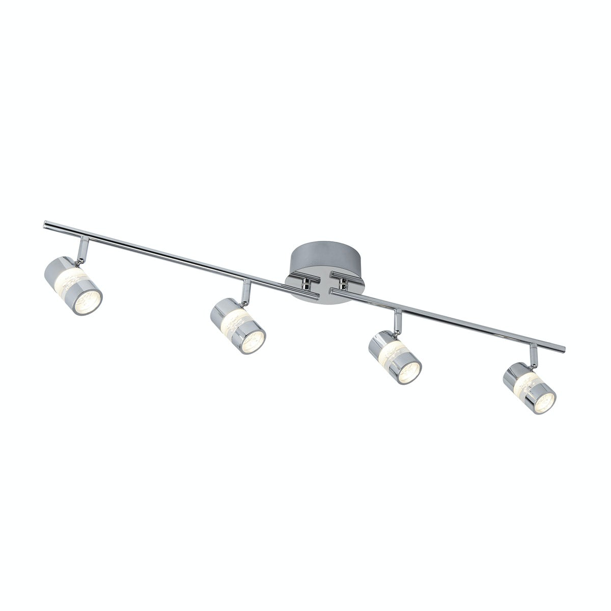 Searchlight Bubbles effect 4 light bathroom bar light