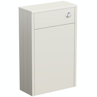 Dulwich ivory slimline back to wall toilet unit